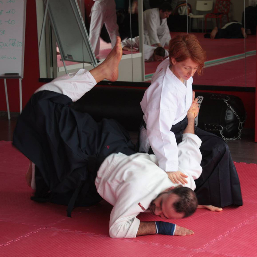 Stage aikido Angouleme libre comme arbre katia