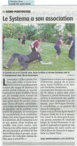 Libre comme l'Arbre dans la Charente Libre