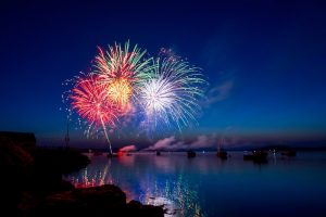Entre son de cloche et feux d'artifice